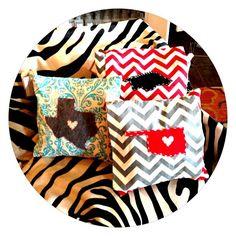 Pretty pillows! #Home #Decor #Pillows