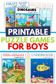 Free printable puzzle games
