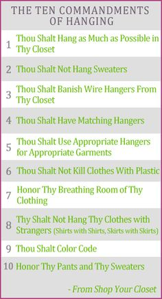 Your guide to closet nirvana! Check them out here: http://www.clos-ettetoo.com/collections/hangers