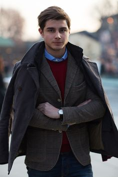 On the Street….Sometimes Great Style Can Be So Easy, Florence - The Sartorialist
