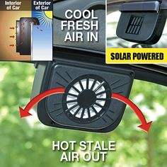 AUTO SOLAR CAR FAN SET OF TWO from Taylor Gifts