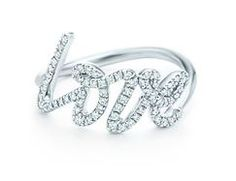 "I ""love"" this ring... also comes in rose gold.  By Tiffany's, of course!"