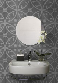 Artisan Geneva 200 x 200 Bathroom Flooring, Bathroom Wall, Bathroom Ideas, Tiles Online, Decorative Tile, Tile Design, Wall Tiles, Artisan, Geneva