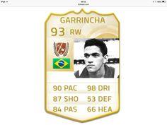GARRINCHA - FIFA  Melhor driblador da história do futebol!!!