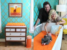 Tori and her ducduc pieces. I'm loving this nursery!