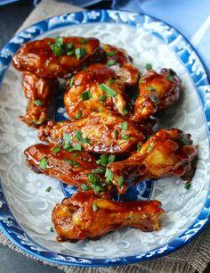 Air Fryer Sriracha-Honey Wings