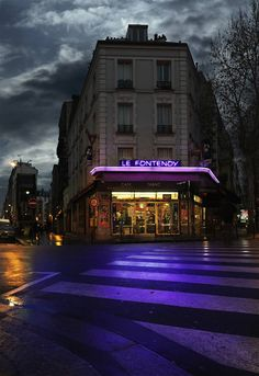 """culturenlifestyle: """" Lost Parisian Cafés Photographed in Rainy Nights by Blaise Arnold French photographer Blaise Arnold pays homage to the nostalgia, somber and abandoned places in Paris,. Landscape Photography Tips, Photography Basics, Scenic Photography, Urban Photography, Night Photography, Landscape Photos, Street Photography, Aerial Photography, Night Aesthetic"""