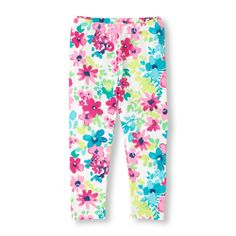 Check out The Children's Place for a great selection of kids clothes, baby clothes & more. Shop at the PLACE where big fashion meets little prices! Baby Girl Bottoms, Baby Girl Pants, Cheap Socks, Cheap Jeans, Teen Leggings, Printed Leggings, Japanese Wife, Big Fashion, Silk Fabric