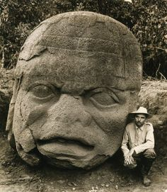 Giant Stone Heads of Mexico