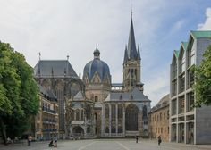 Aachen Germany Imperial-Cathedral-01 - Aachen Cathedral - Wikipedia, the free encyclopedia
