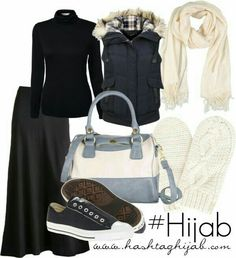 Converse shoes #hijabiii