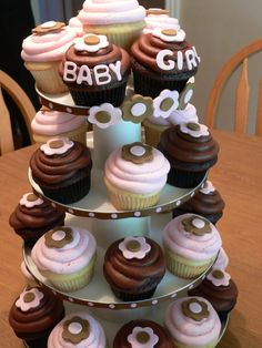 girl baby cupcakes | Baby Girl Cupcakes