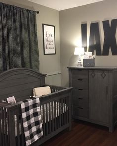 Design Reveal Mountain Inspired Nursery Gray Nursery Pinterest