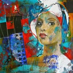 Carole Bressan - Painting Of 1920s Woman