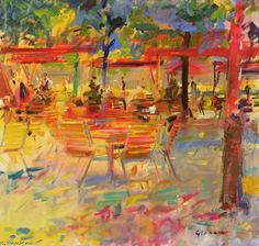 'Lunch On The Terrace' by Peter Graham Ii