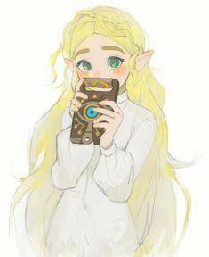 The Legend Of Zelda, Legend Of Zelda Breath, Princesa Zelda, Japon Illustration, Ecchi, My Father's Daughter, Video Game Art, Video Games, Drawing Reference Poses