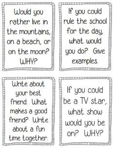 Back to School printables! Perfect for the crazy 1st week of school! $