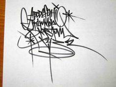 Resultado de imagem para graffiti lettering