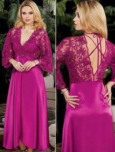 e8fd70ba0e Jeremi 497 6 Pcs Satin Robe Set will make you redefine comfort when you wear  this cozy and stylish set.