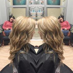 balayage highlights from @b.suitesalon #atlantahair #balayage #hair