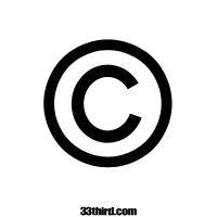 Copyright Stencil  www.33third.com