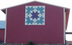 "I think this is the pattern we've decided on for the barn quilt.  The ""Carpenter's Circle."""