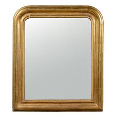 Giltwood Louis Philippe Mirror