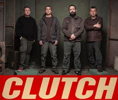 Maryland native rock band Clutch has kept onlookers and innocent bystanders in a trance since their 1991 formation. Description from metal-observer.com. I searched for this on bing.com/images