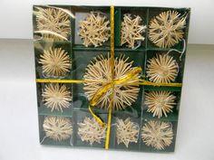 Swedish straw ornaments