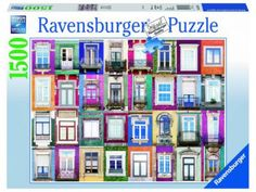 Ravensburger Window in Porto Jigsaw Puzzle Piece) Puzzle Ravensburger, Act For Kids, Toys R Us Canada, Thick Cardboard, Science Kits, Fantasy Images, Problem Solving Skills, Puzzle Toys, Puzzle Pieces