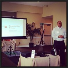 Jason Cash presenting at this mornings #business #referral #networking meeting!