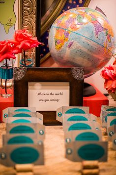 Where in the world are you sitting? Wedding table cards, Shutters on the Beach, luxury hotel, Santa Monica, CA. (Photo by Laura Grier) Beach Wedding Photos, Beach Weddings, Event Venues, Wedding Venues, Card Table Wedding, Getting Engaged, Table Cards, Santa Monica, Shutters