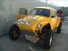 Penhall Fabrication yellow baja bug