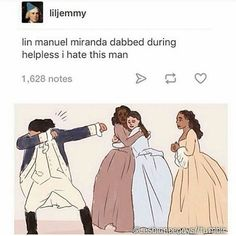 Image result for lin manuel miranda dabbed during helpless