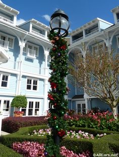 Beach Club And Yacht Holiday Decorations At Walt Disney World Allears