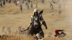 Assassins Creed III. Love the winter scenes.