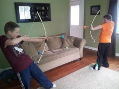 Awesome Bow and Arrows {That You Can Make!}
