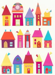 Cereal Box Houses, make a town | ~ Art File , Report ... on cardboard box house, cracker box house, waffle box house, making house,