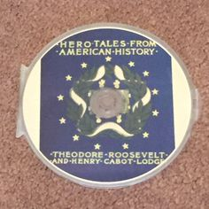 Hero Tales From American History Theodore Roosevelt & Henry Cabot Lodge MP3 New