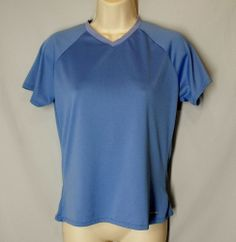 * PATAGONIA size M Capilene Performance Base Layer Blue Athletic Shirt Top