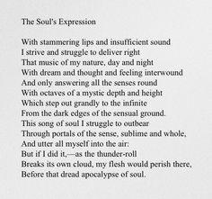 //The Soul's Expression - Elizabeth Barrett Browning