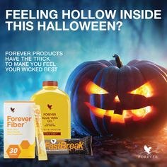 Halloween is here!! Forever products make you feel your wicked best.
