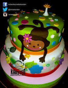 Torta de #MonkeyLove