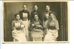 #LANCASHIRE #MILL GIRLS at #BURNLEY Show Tools of Trade EXC 1900s Vintage POSTCARD | eBay