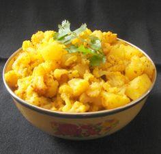 My Cooking Adventures: Punjabi Aalu Gobi Sabji | Aloo Gobhi Curry | Alu G...