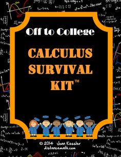 First of its kind! Must have!! This unique bundle of resources contains over 40 pages of handouts, formula sheets, and references for students going on to College Level Mathematics or High School AP Calculus.  It is primarily for Calculus but is  useful for any course from PreCalculus and up.