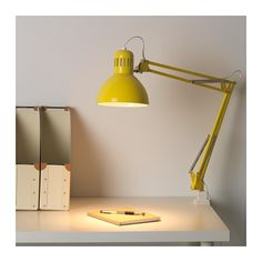 TERTIAL Work lamp IKEA You can easily direct the light where you want it because the lamp arm and head are adjustable.