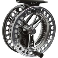 Sage 4500 Series Fly Reel - Long runs, varying waters, and a lifetime of grime and grit are no match for the large-arbor Sage 4500 Series Fly Reel. The 4500 provides smooth, powerful resistance without the weight of a traditional drag system thanks to its 3:1 geared, fully-sealed carbon drag system and innovative lightweight design. #FathersDay #FlyFishing