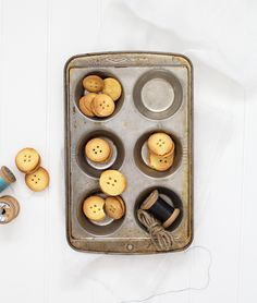 Salted Caramel Buttons (with recipe).