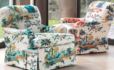 Chapter 3: The Direction of Fashion Change. This retro chintz prints is back in style for 2013, once a popular pattern, its now back for another go around.